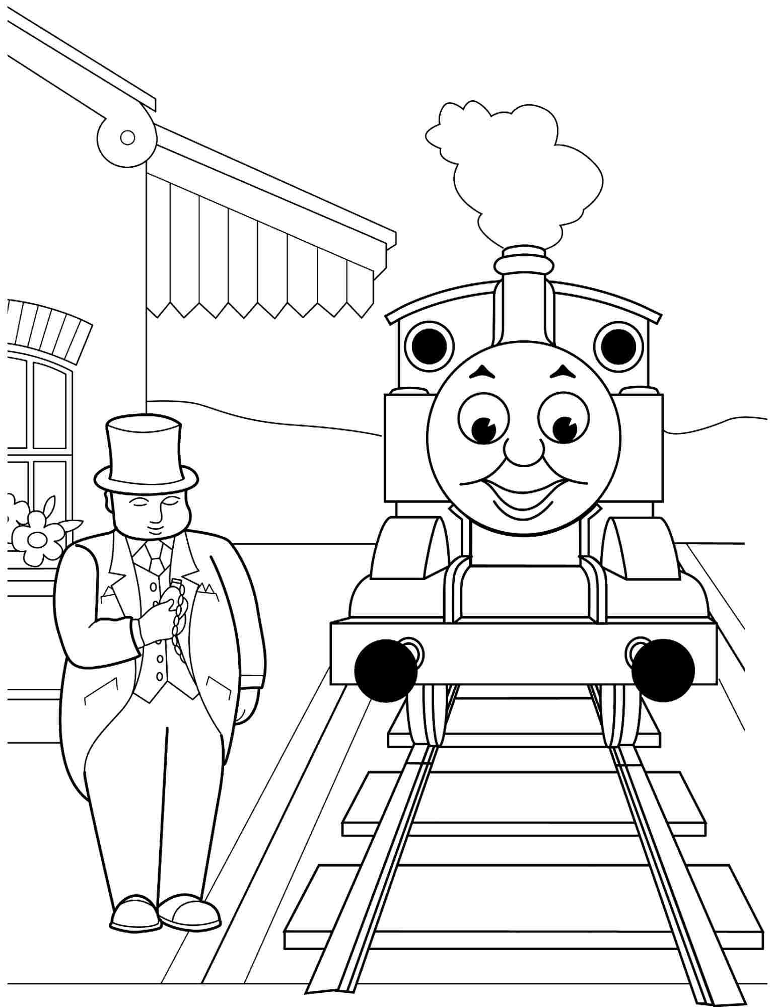 1535x2000 Wonderful Simple Train Coloring Page Pages For Toddlers Realistic
