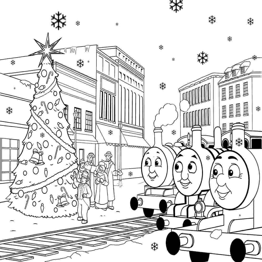 1100x1100 Thomas The Train Coloring Pages To Print Free For Toddlers