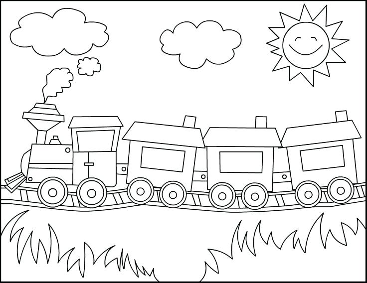 736x568 Coloring Pages For Toddlers Coloring For Toddlers Train Coloring