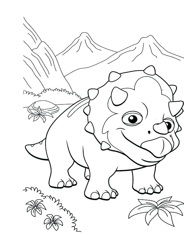 600x765 Dinosaur Train Coloring Pages Excellent Dinosaur Train Coloring