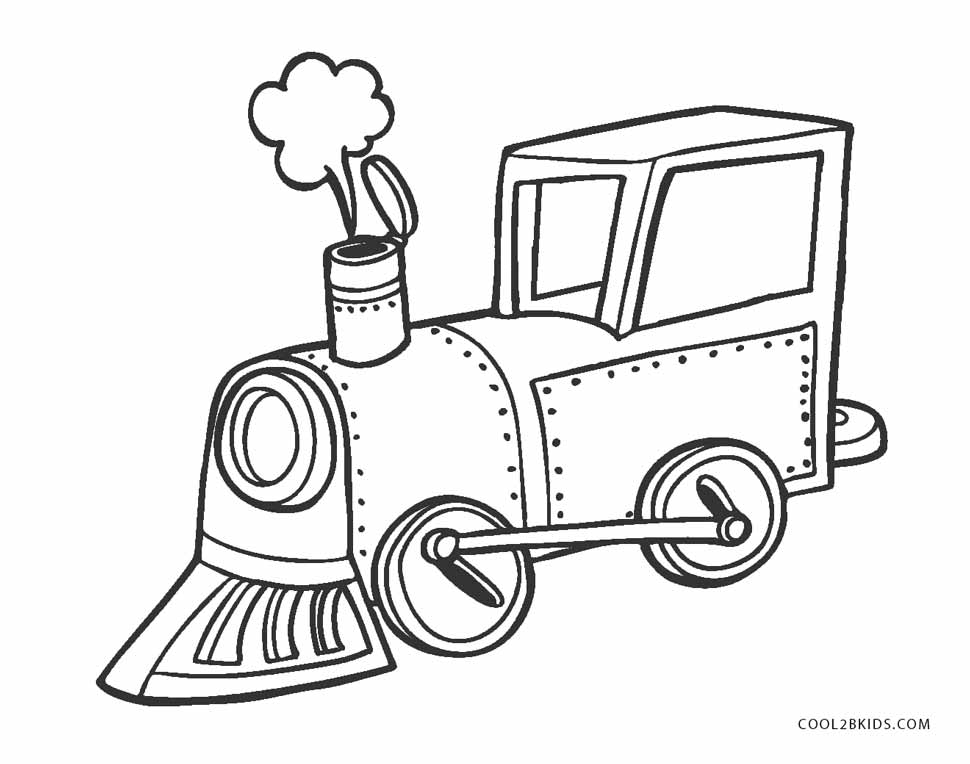 970x764 Free Printable Train Coloring Pages For Kids