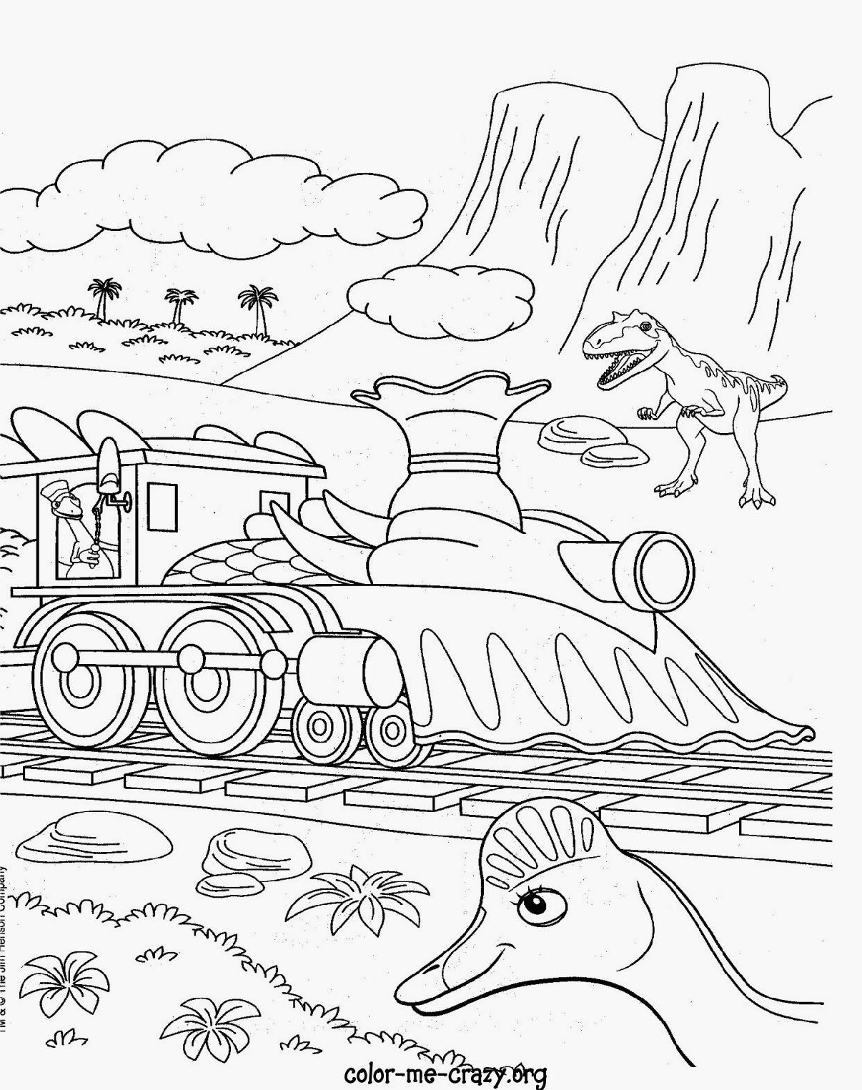 Train Coloring Pages Pdf At Getdrawings Com Free For Personal Use