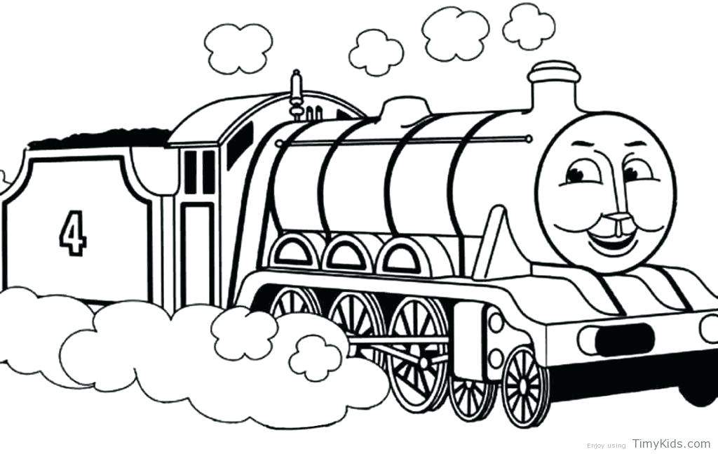 Train Coloring Pages Pdf at GetDrawings | Free download