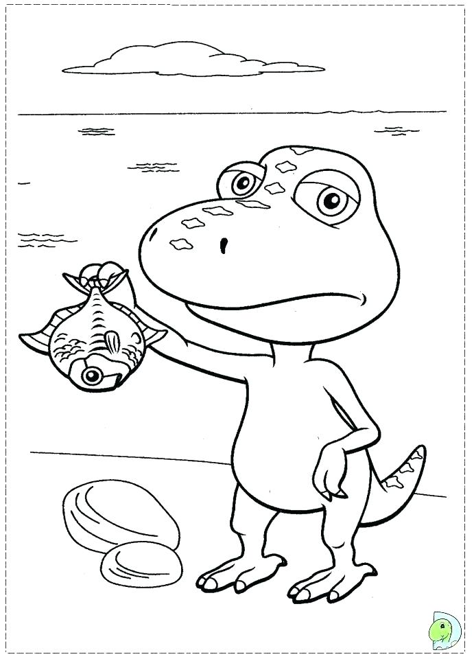 691x960 Coloring Page Dinosaur Cute Dinosaur Coloring Pages Dinosaur Train