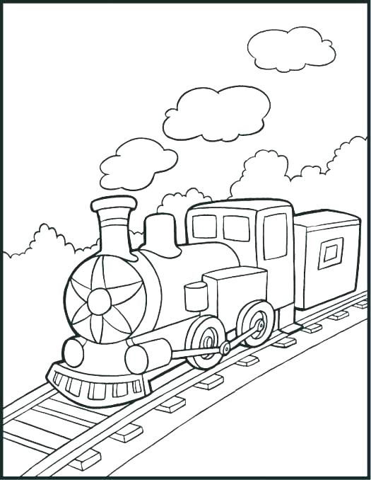 525x678 Coloring Pages Train Freight Train Coloring Pages Train Coloring