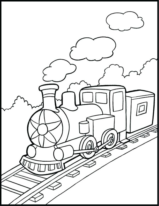 615x794 Lego Train Coloring Pages Train Coloring Pages Medium Size