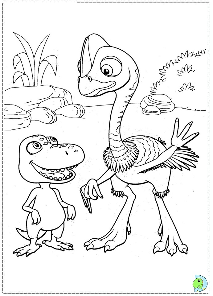 691x960 Pretty Inspiration Dinosaur Train Coloring Pages Printable