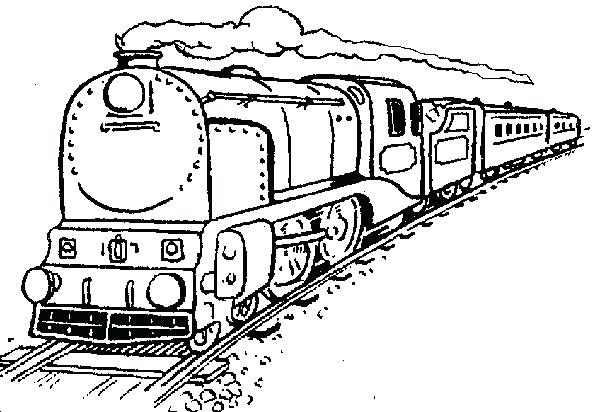 Train Coloring Pages To Print at GetDrawings   Free download