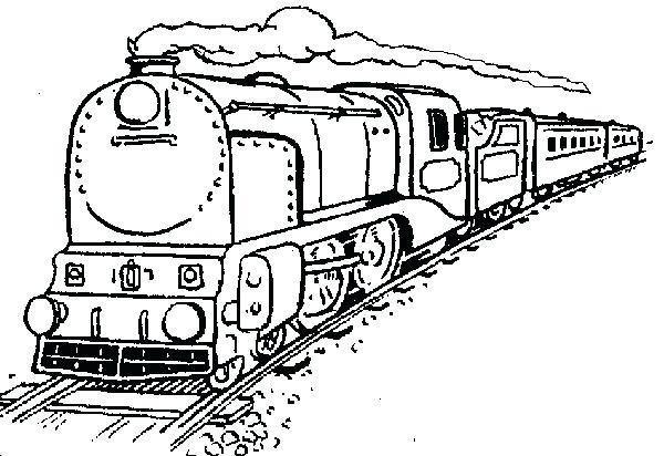 600x412 Train Color Pages Marvellous Design Train Coloring Pages Printable
