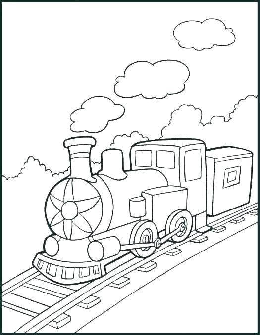 525x678 Trains Coloring Pages Coloring Book Pages To Print Train Color