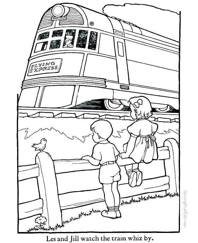 670x820 Coloring Pages Of Trains Train Coloring Sheets And Printable Train
