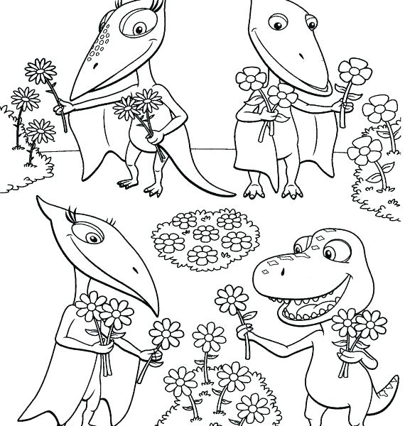 570x600 Dinosaur Train Coloring Page Dinosaur Train Coloring Pages