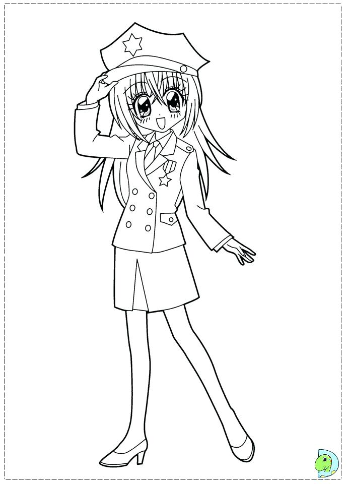 691x960 Train Conductor Hat Coloring Page