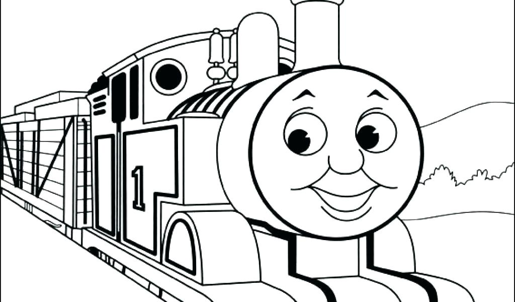 1024x600 Thomas The Train Coloring Pages The Train Coloring Pages Free