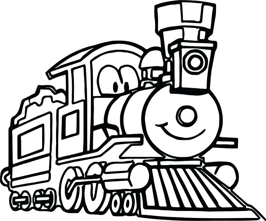 878x728 Diesel Train Coloring Pages The Train Coloring Pages Train