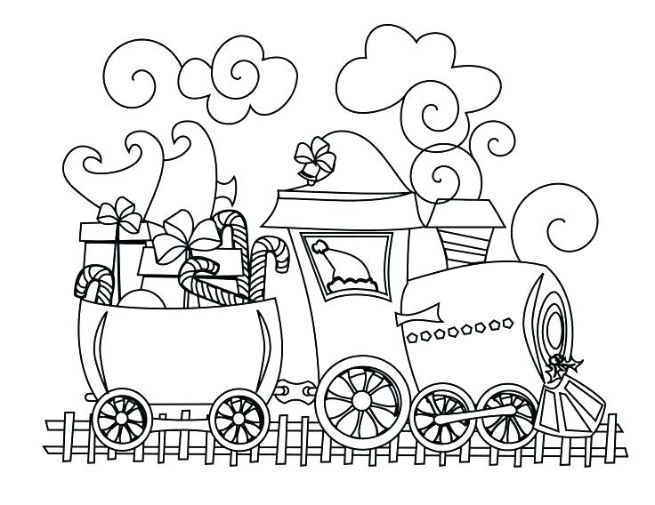 736x568 Train Engine Coloring Page Medium Size Of Coloring Pages