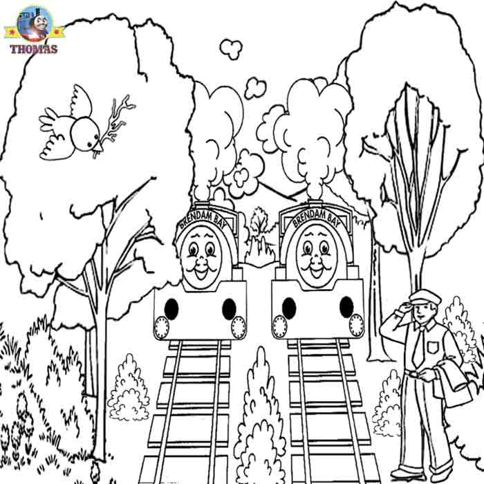 700x700 Kids Free Online Coloring Pages Thomas Train Printable Pictures