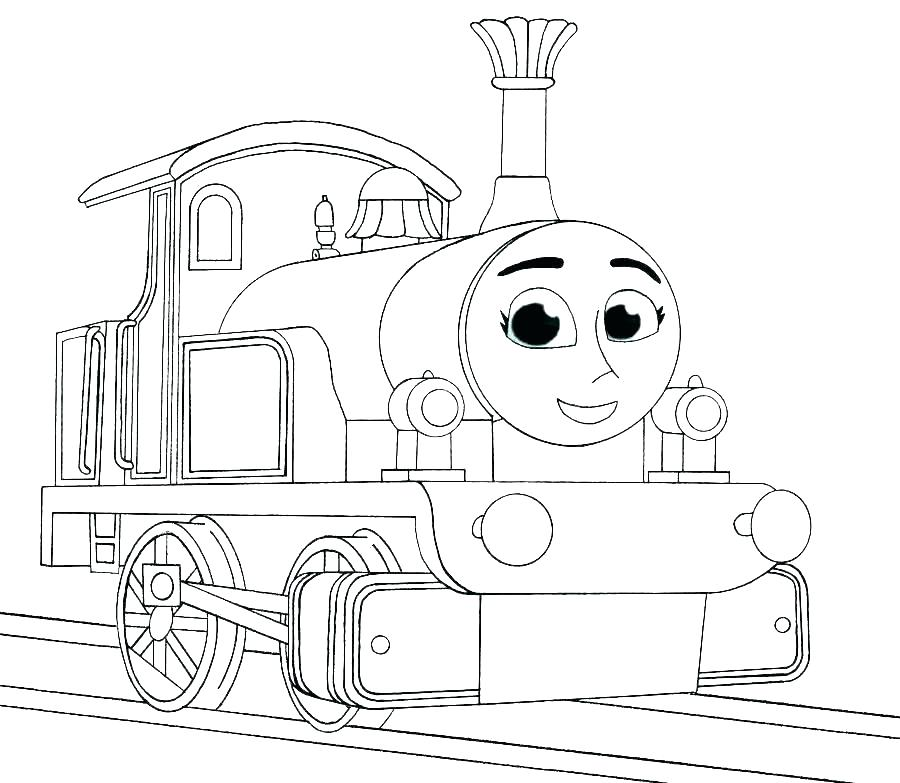 900x783 High Speed Train Coloring Pages