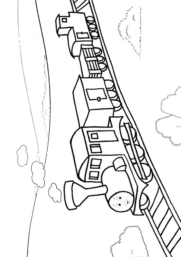 600x850 Train Track Coloring Page Track Field Coloring Pages Track