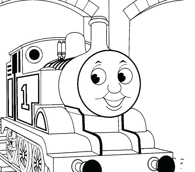678x600 Train Tracks Coloring Pages