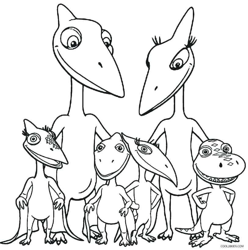 813x820 Coloring Page Train Dinosaur Train Free Coloring Pages Coloring