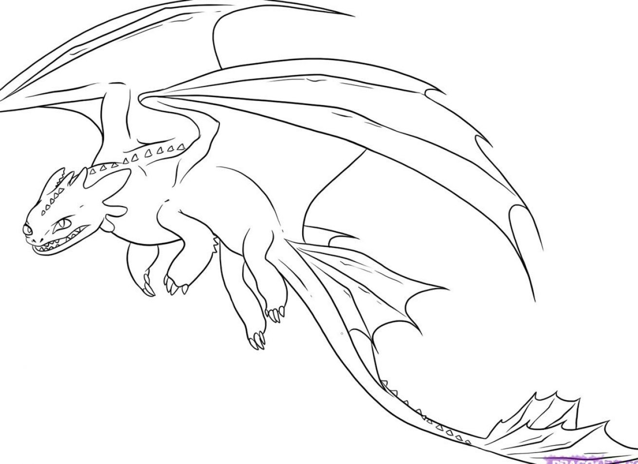 1311x955 How To Train Your Dragon Coloring