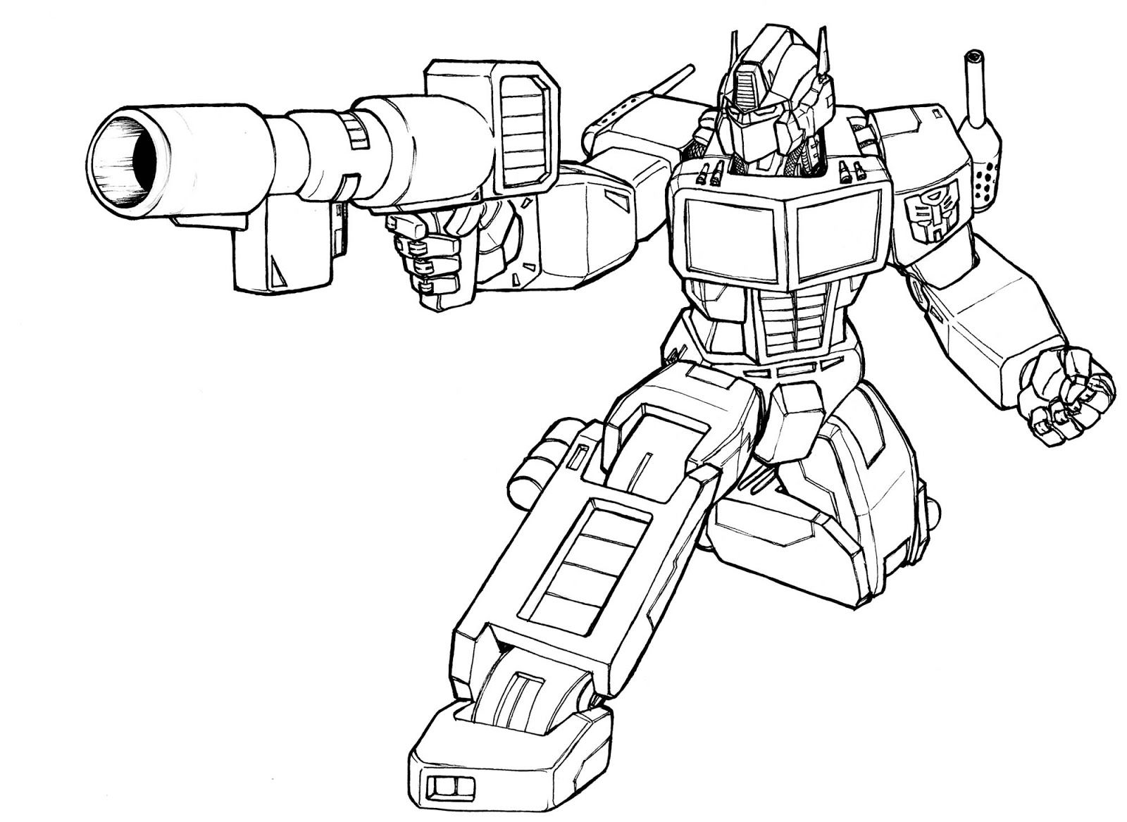 The Best Free Transformer Coloring Page Images Download