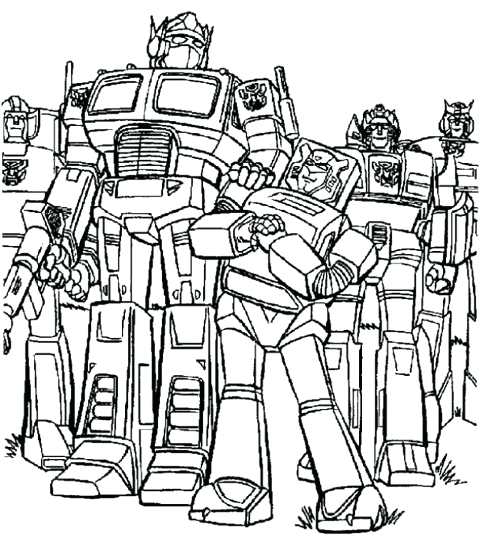 Optimus Prime Para Colorear E Imprimir Coloriage Sur Laguerchecom