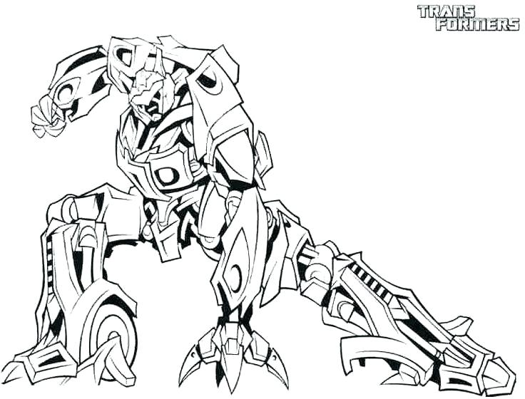 736x560 Optimus Prime Coloring Page Transformers Transformers Robots