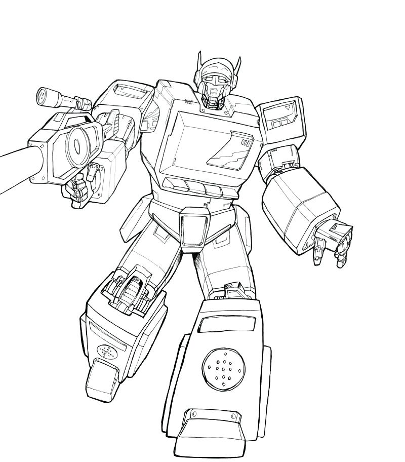 800x912 Transformer Coloring Page Coloring Pages Transformers Coloring