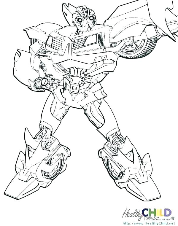 600x762 Transformer Coloring Pages Printable Transformer Coloring Page