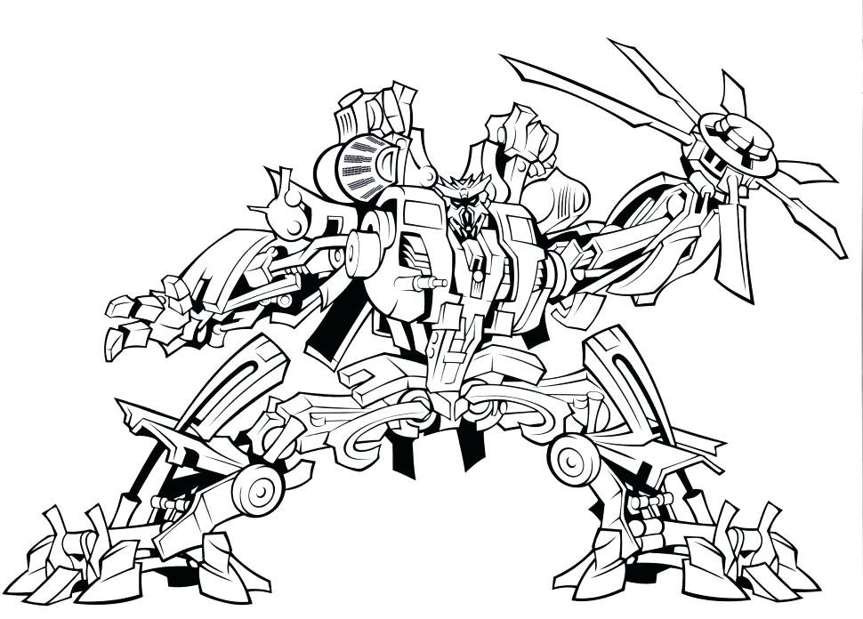 970x696 Transformers Color Pages Coloring Bulkhead Transformer Coloring