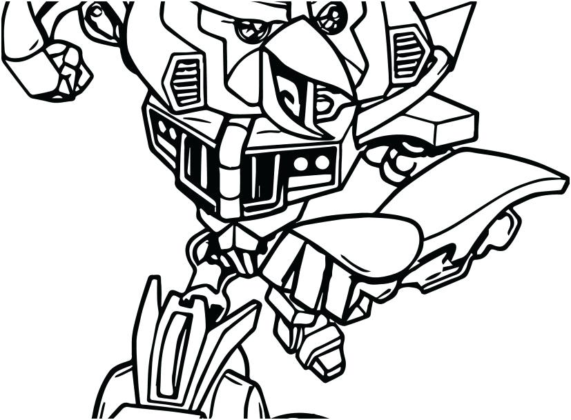 827x609 Transformers Coloring Pages Printable Angry Birds Transformers