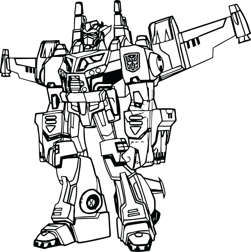 863x866 Transformers To Color Coloring Pages Free Transformer Coloring