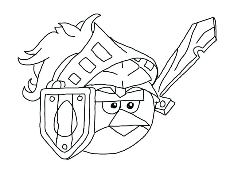 736x552 Angry Bird Coloring Pages Angry Birds Epic Coloring Page Red Angry
