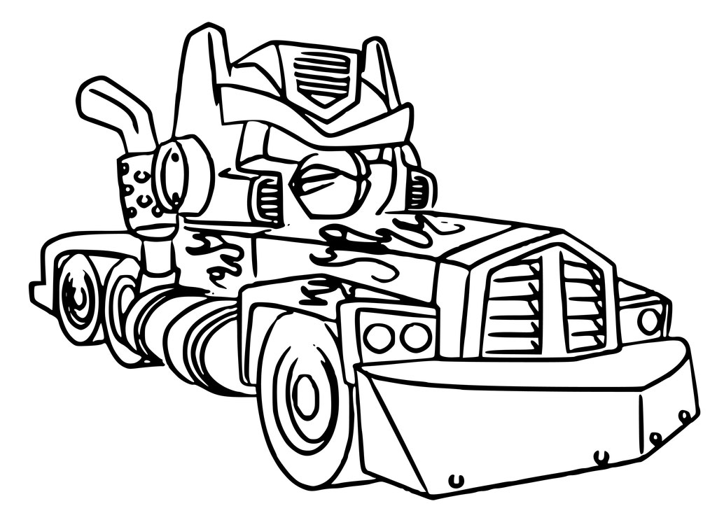 1024x723 Angry Birds Transformers Coloring Pages