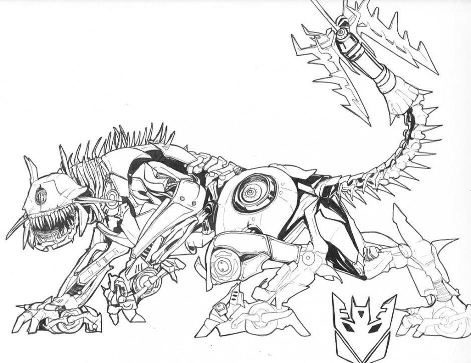 Transformers Coloring Pages At Getdrawings Com Free For