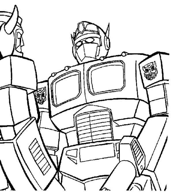Transformers Coloring Pages At Getdrawings Com Free For Personal