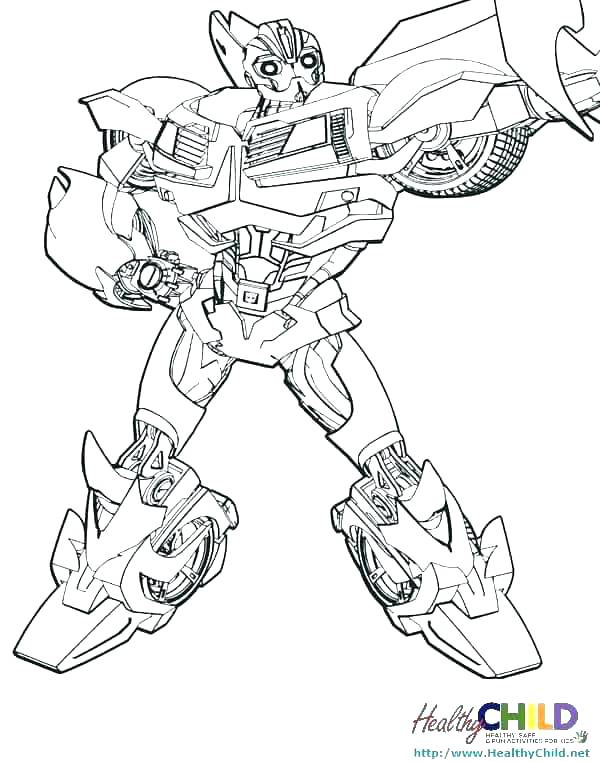 Transformers Coloring Pages Free Printable At Getdrawings Free Download