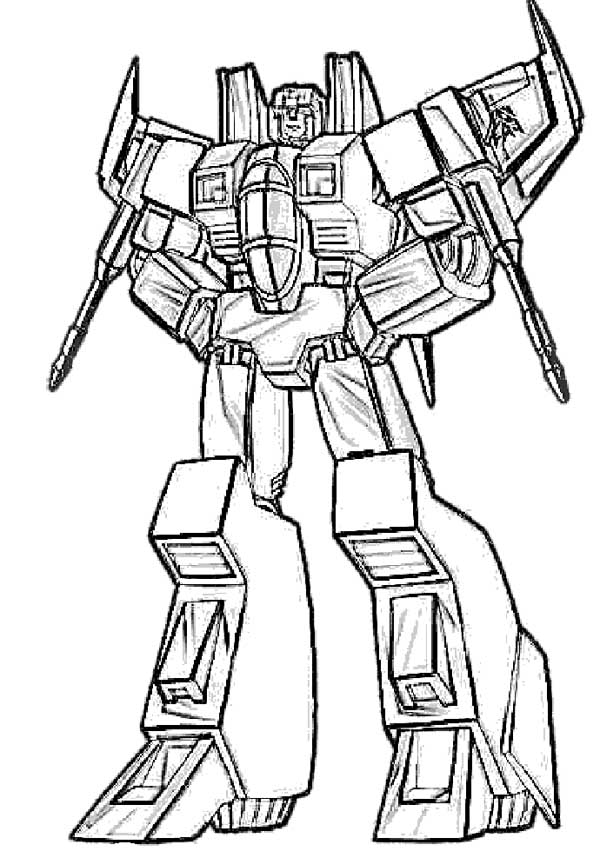 600x858 Starscream Transformers Coloring Page Coloring Pageskids