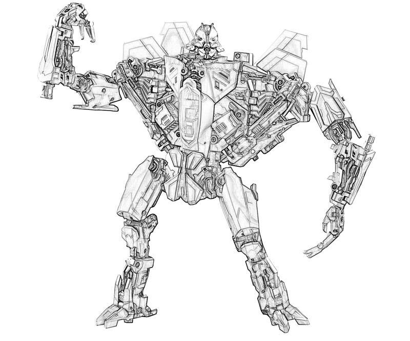 Transformers Coloring Pages Starscream at GetDrawings com