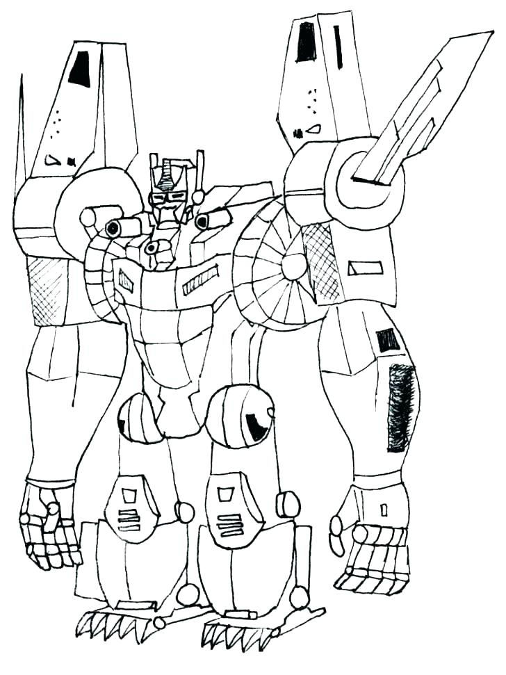 728x971 Transformers Coloring Pages Starscream Professional
