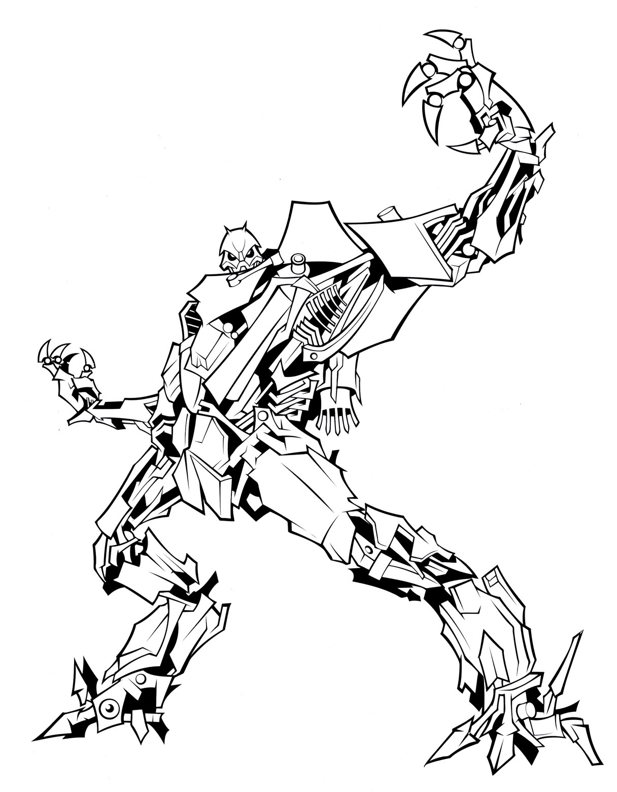 1216x1561 Cool Transformers Coloring Pages Starscream Break Out The Crayolas