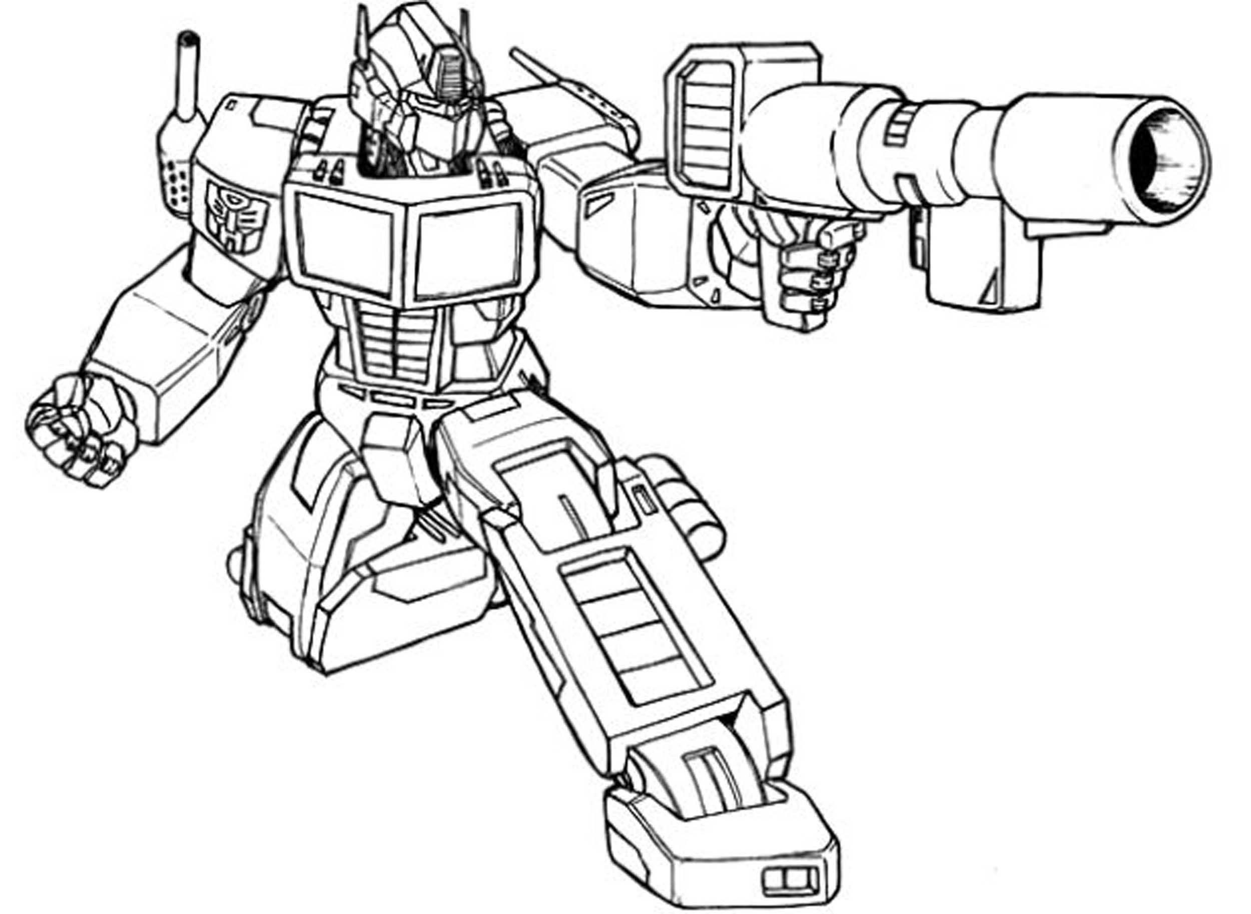 2500x1826 Star Scream For Transformers Coloring Page