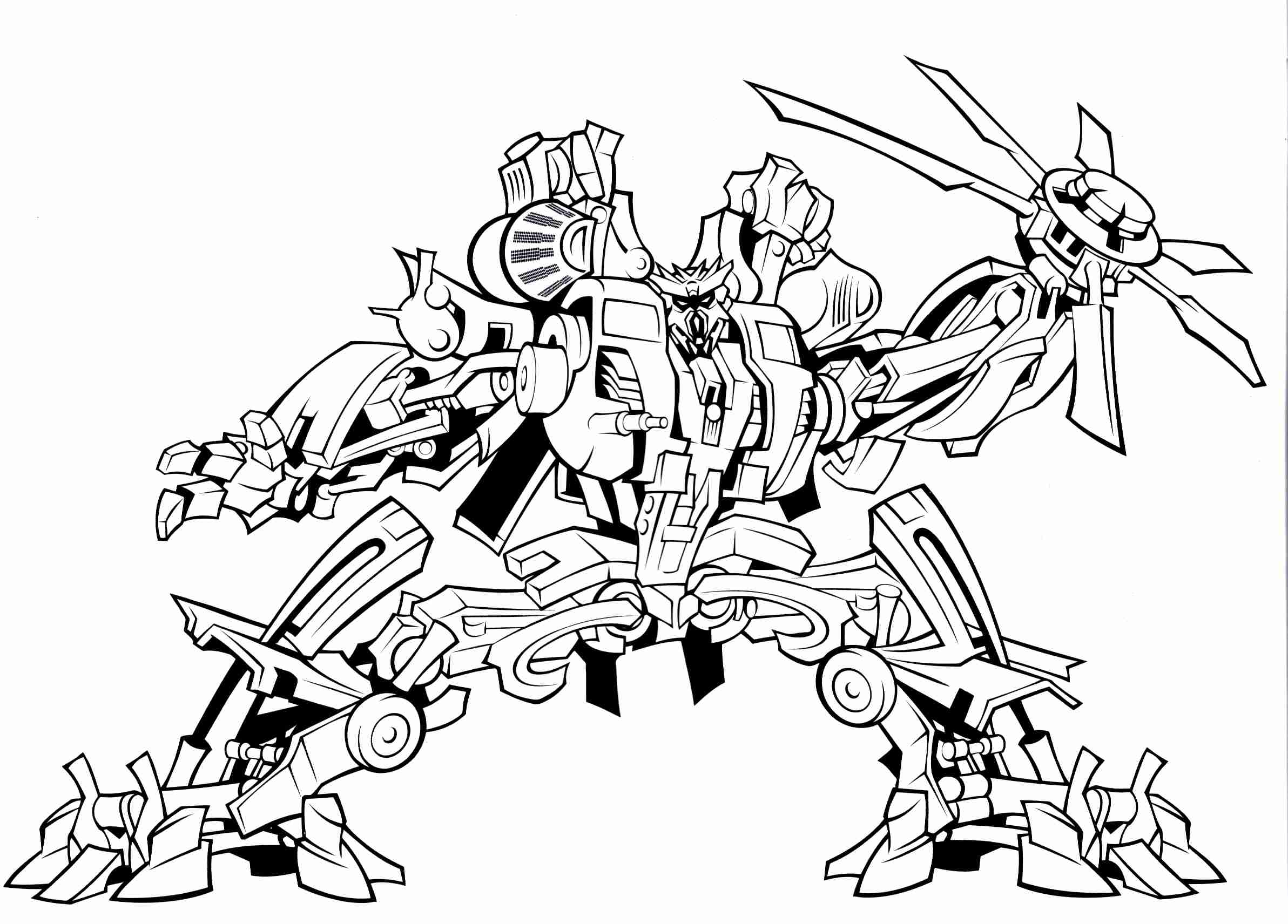 2385x1712 Transformers Coloring Pages Printable Print Color Craft