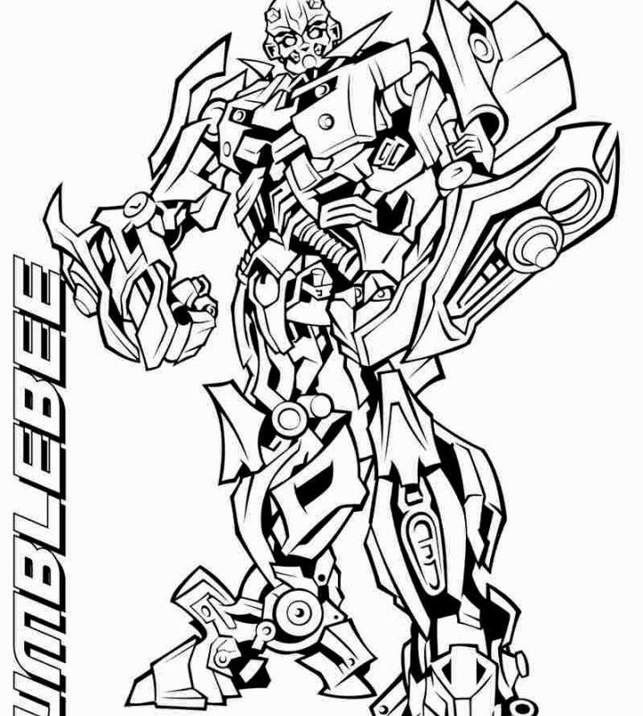 719x800 Great Transformer Pictures To Color Coloring Pages Of Transformers