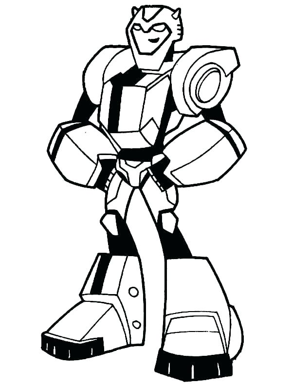 600x790 Transformer Coloring Pages Bumblebee Transformer Colori Pages