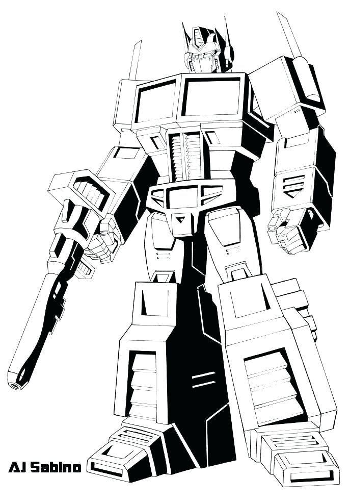 687x986 Transformer Coloring Pages To Print Transformers Coloring Pages
