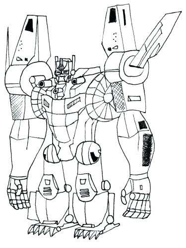 375x500 Transformers Coloring Page Medium Size Of Transformer Coloring