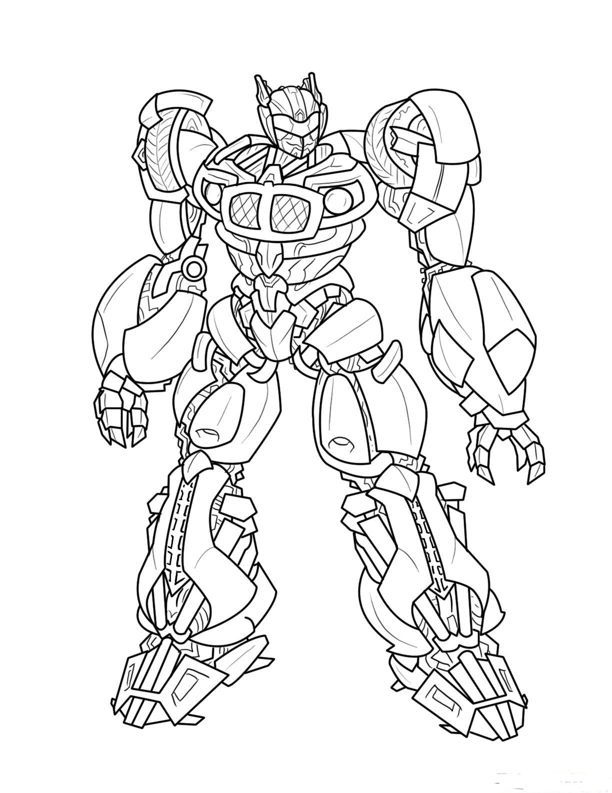 1224x1584 Transformers Coloring Pages